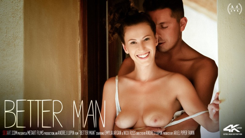 SexArt Emylia Argan Better Man