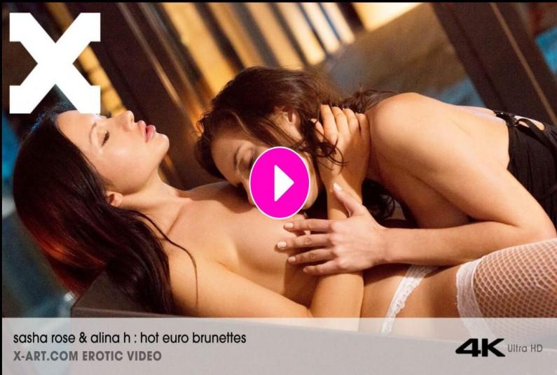 Hot Euro Brunettes